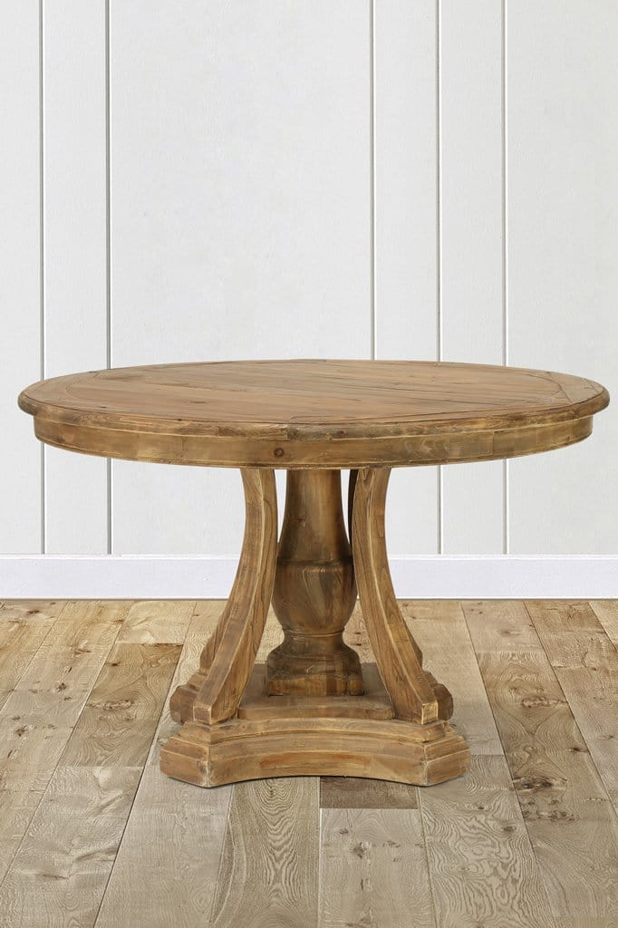 Belmont Round Dining Table Wood Table Furniture Online Fat Shack Vintage