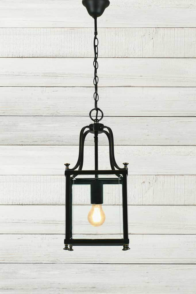 Manor Glass Pendant Light Lantern Style Lighting Fat Shack Vintage