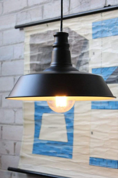 Station pendant small shade is 360mm in diameter and the height