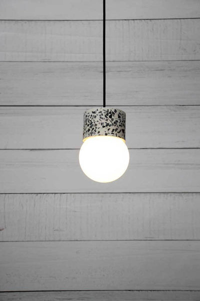 Terrazzo ceiling light glass shades online Melbourne