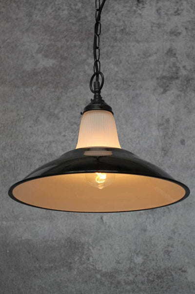 Unique designer lighting online Melbourne black steel shades