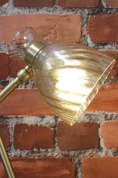 Vannes Glass Table Lamp