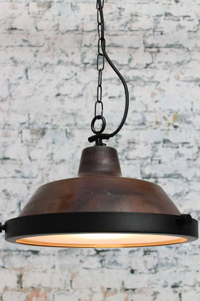 Copper kitchen pendant lighting