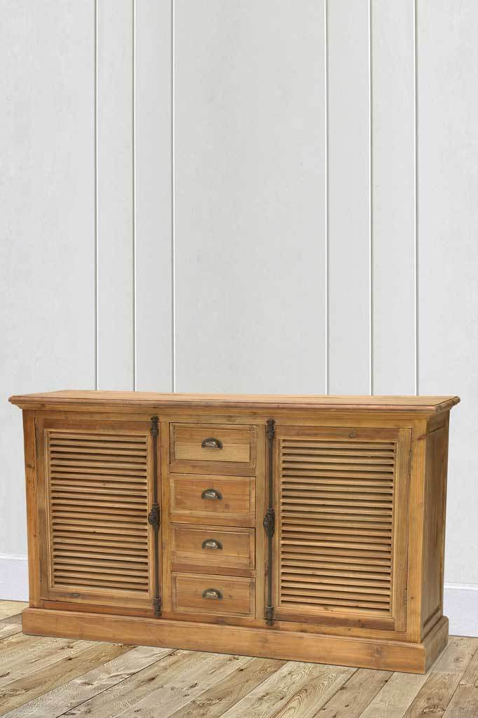 Vintage styled buffet cabinet reclaimed wood furniture online