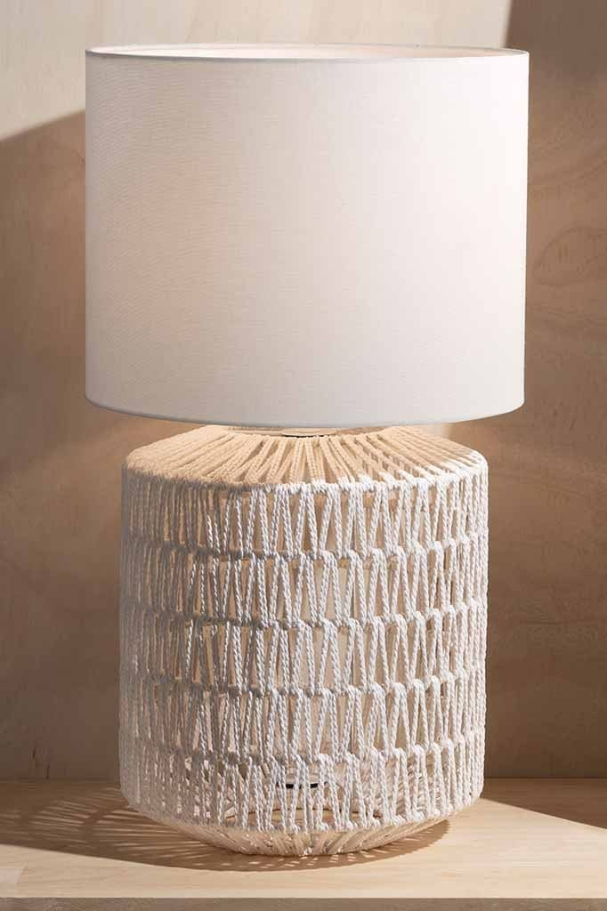 white-woven-rope-table-lamp