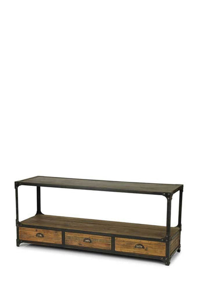 Wooden tv table wood television bench