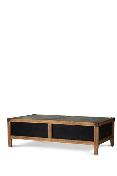 Wooden coffee table leather furniture online Melbourne