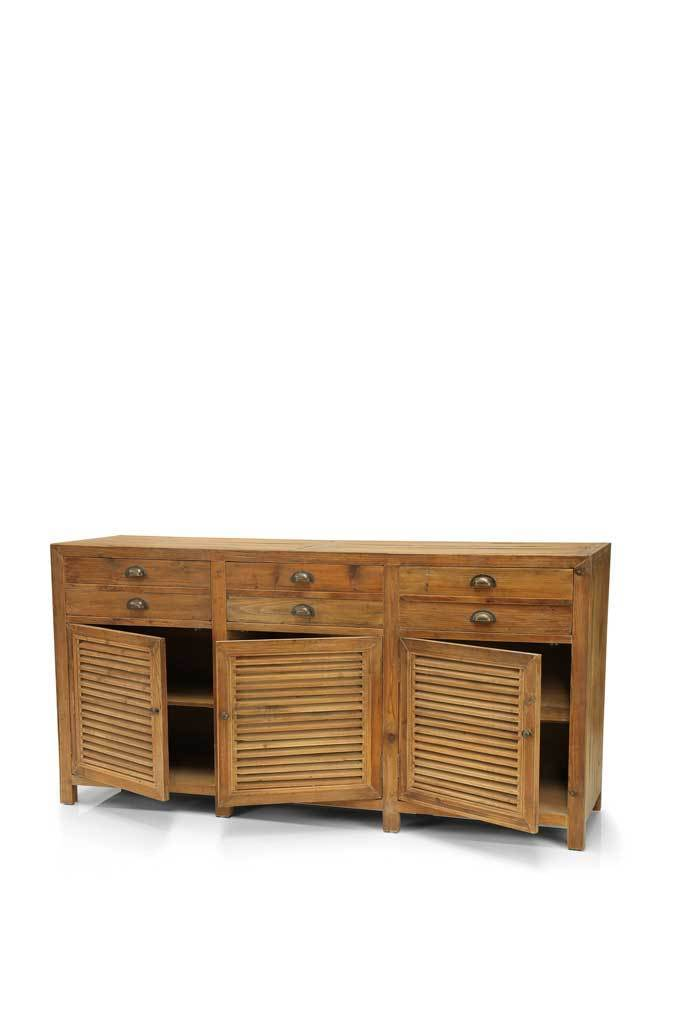 Picture of: Farmhouse 3 Door Sideboard Buffet Online Furniture Rustic Sideboard Fat Shack Vintage