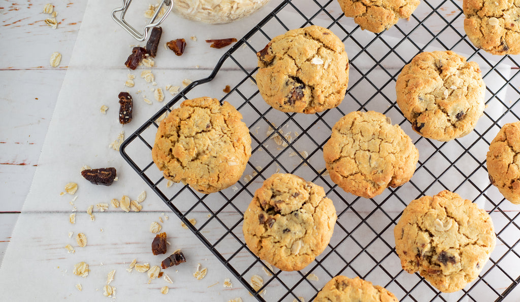 Salted Caramel and Oat Protein Cookies