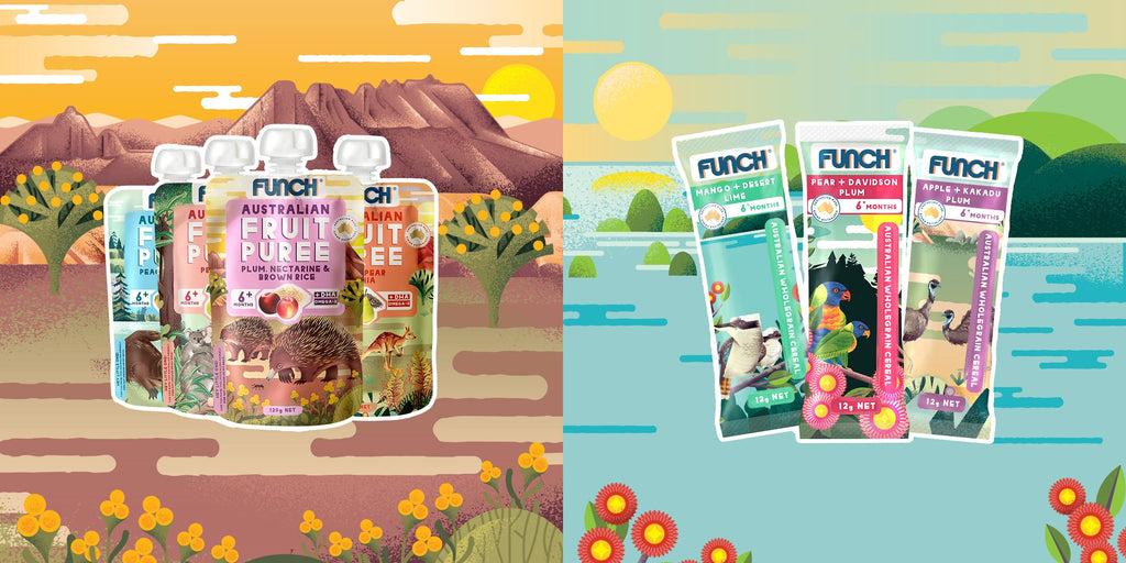 Funch Baby Purees and Baby Cereals