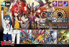 "Cardfight!! Vanguard G - Clan boosters Display CB04 ""Gear of Fate"""