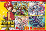 "Cardfight!! Vanguard G - Fighter Collection booster display box FC04 : ""Fighters Collection 2017"""
