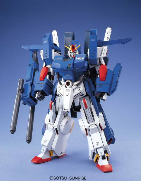 Gundam ZZ - MSZ-010 ΖΖ Gundam: Full Armor ver. - Master Grade model kit