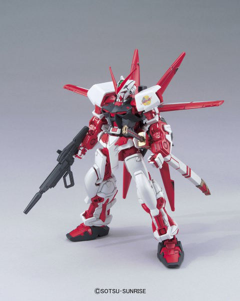 Gundam Seed Astray - MBF-P02 Gundam Astray Red Frame flight ver. - High Grade model kit