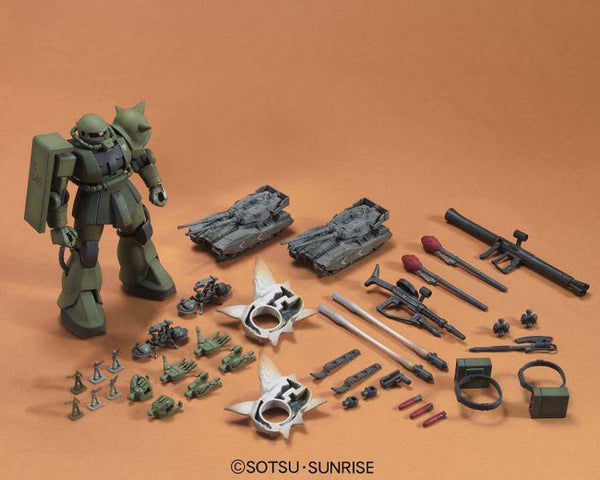 Gundam - Zaku Ground Attack Set - High Grade Model kit