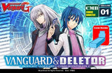 "Cardfight!! Vanguard G - Comic booster display box CMB 1 ""Vanguard & Deletor"""