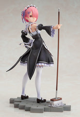 Re:Zero Starting Life in Another World - Ram - 1/7 PVC figur (pre-order)