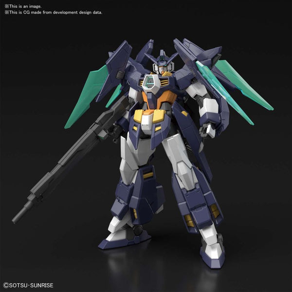Gundam Build Fighters - AGE-TRYMAG Gundam TRY AGE Magnum - High Grade Model kit
