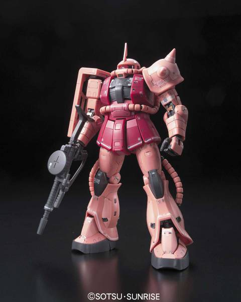 Gundam - MS-06S Zaku II: Char ver. - Real Grade Model kit