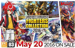"Cardfight!! Vanguard G - Fighter Collection booster display box FC03 : ""Fighters Collection 2016"""