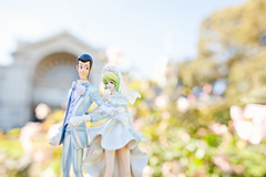 Lupin III - Lupin the Third & Rebecca wedding ver. - Prize figur sæt