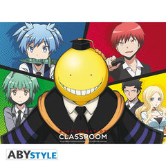 Assassination Classroom - Koro vs pupil - Plakat