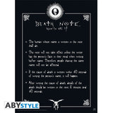Death Note - Rules - Plakat