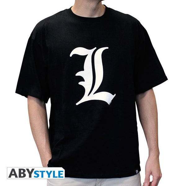 Death Note - T-shirt - L Symbol