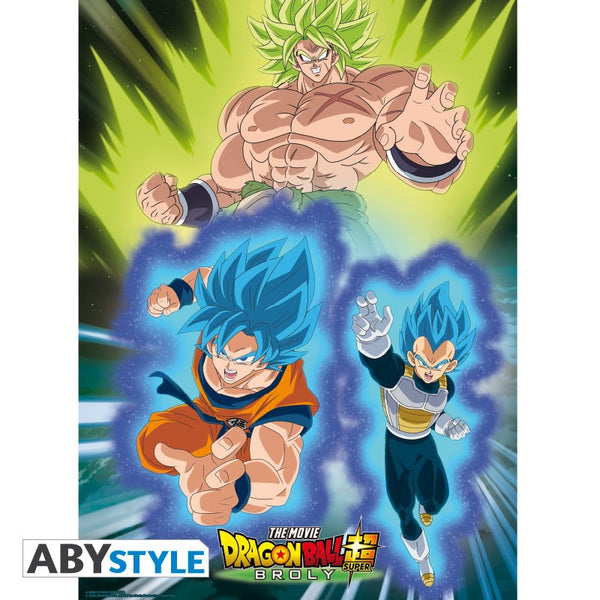 Dragon Ball - Broly vs Goku & Vegeta - Plakat