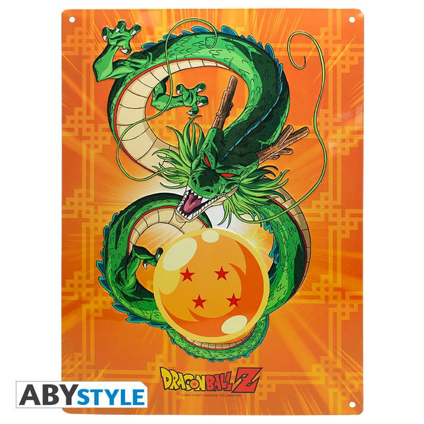 Dragon Ball - Shenron - Metal Plade