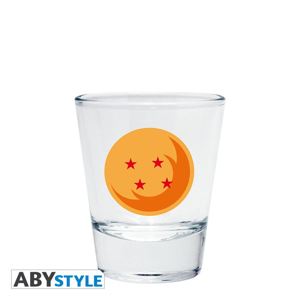 Dragon Ball - Dragon Ball gave sæt - Krus - Shotglas - Juiceglas