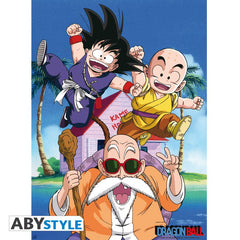 Dragon Ball - Kame Team - Plakat