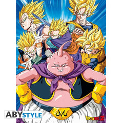 Dragon Ball - Buu VS Super Saiyans - Plakat