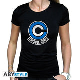 Dragon Ball - T-shirt ladies - Capsule Corp