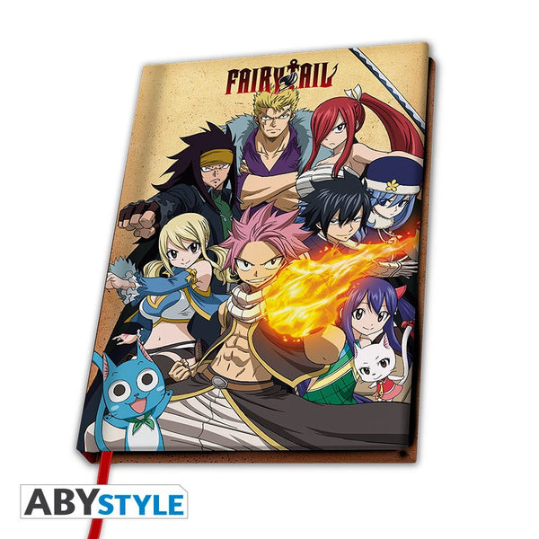 Fairy Tail - Fairy Tail Guild gruppe- Hardcover notesbog