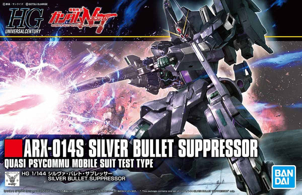 Gundam - ARX-014S Silver Bullet Suppressor - High Grade Model kit