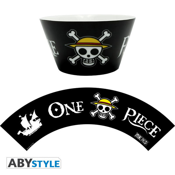 One Piece - Straw hat Flag skål - 460 ml