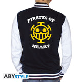 One Piece - college jakke - Pirates of Heart