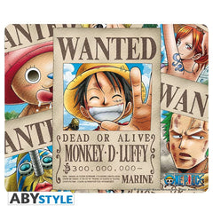 One Piece - Wanted collage- musemåtte