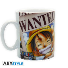 One Piece - Luffy Wanted Krus - 460 ml
