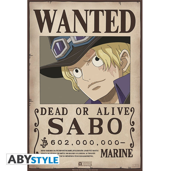 One Piece - Sabo Wanted - Plakat