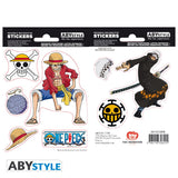 One Piece - Luffy & Trafalgar Law - Stickers