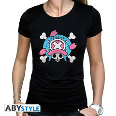 One Piece - T-shirt ladies - Chopper New World flag