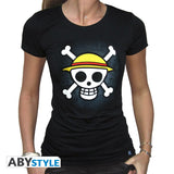 One Piece - T-shirt ladies - Straw Hat Pirate flag
