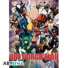 One Punch Man - Heroes - Plakat