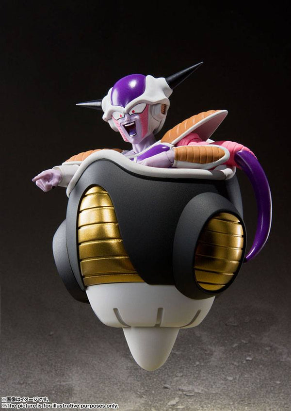 Dragon Ball Z- Frieza First Form & Frieza Pod Ver. - S.H. Figuarts (Forudbestilling)