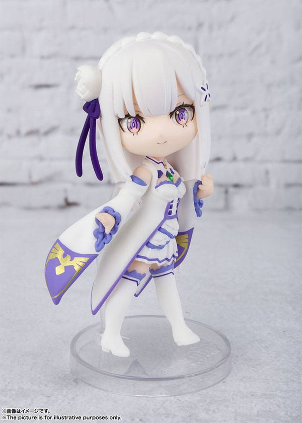Re:Zero Starting Life in Another World – Emilia - Mini Action Figur (Forudbestilling)