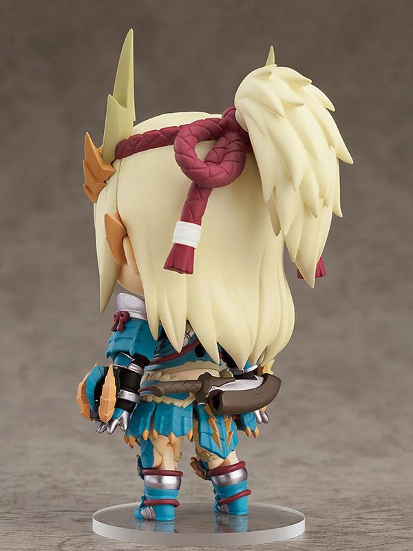 Monster Hunter - Female Hunter: Zinogre Alpha Armor Deluxe version - Nendoroid (Forudbestilling)