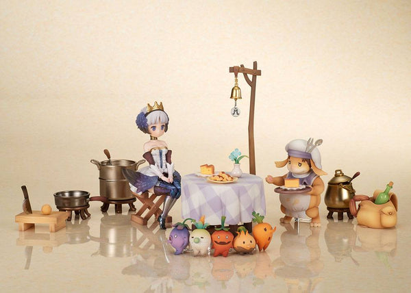 Odin Sphere – Gwendolyn folding chair & Maury's Catering Service - PVC figur (Forudbestilling)