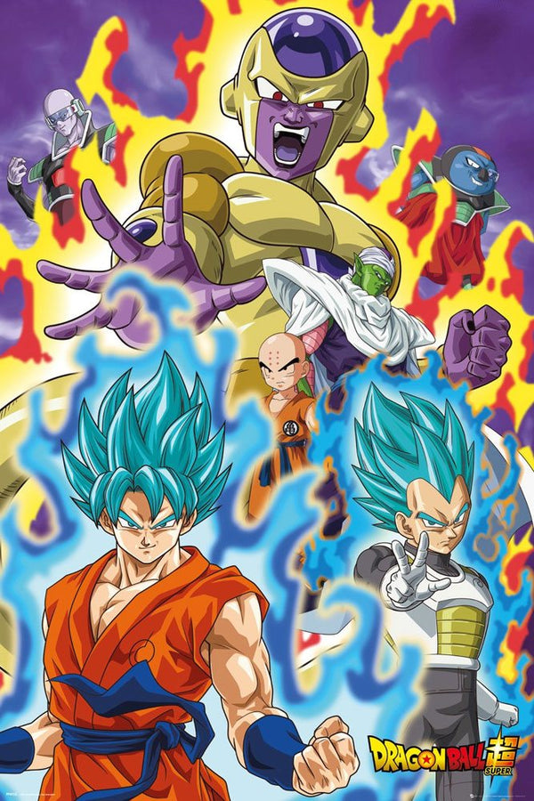 Dragon Ball - Dragon Ball Super: God Super characters - Stor Plakat